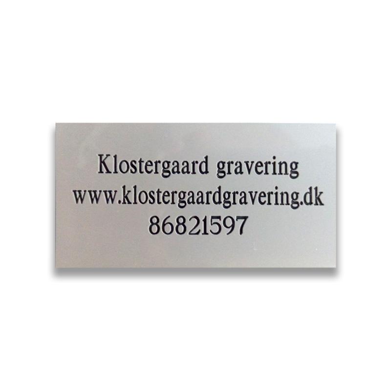 klostergaard gravering